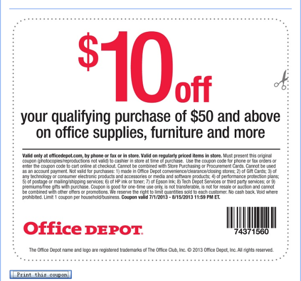 Office Depot Customer Feedback Survey Home depot coupons