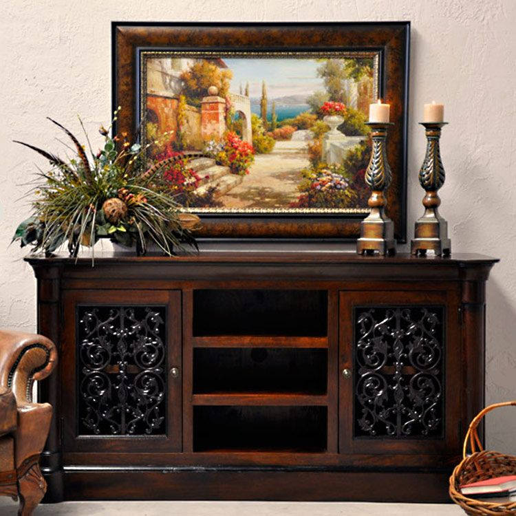Old World Estate Bedroom Set From Art Furniture: Palomar Media Center