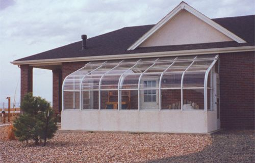 Greenhouse Attached To House Plans The Cultivator Elite