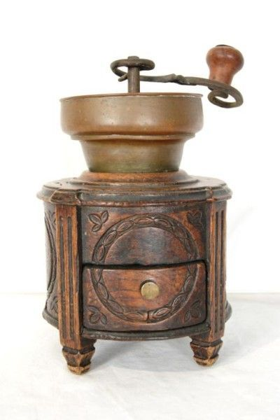 Antiques and Collectibles – 19th Century French Coffee Grinder