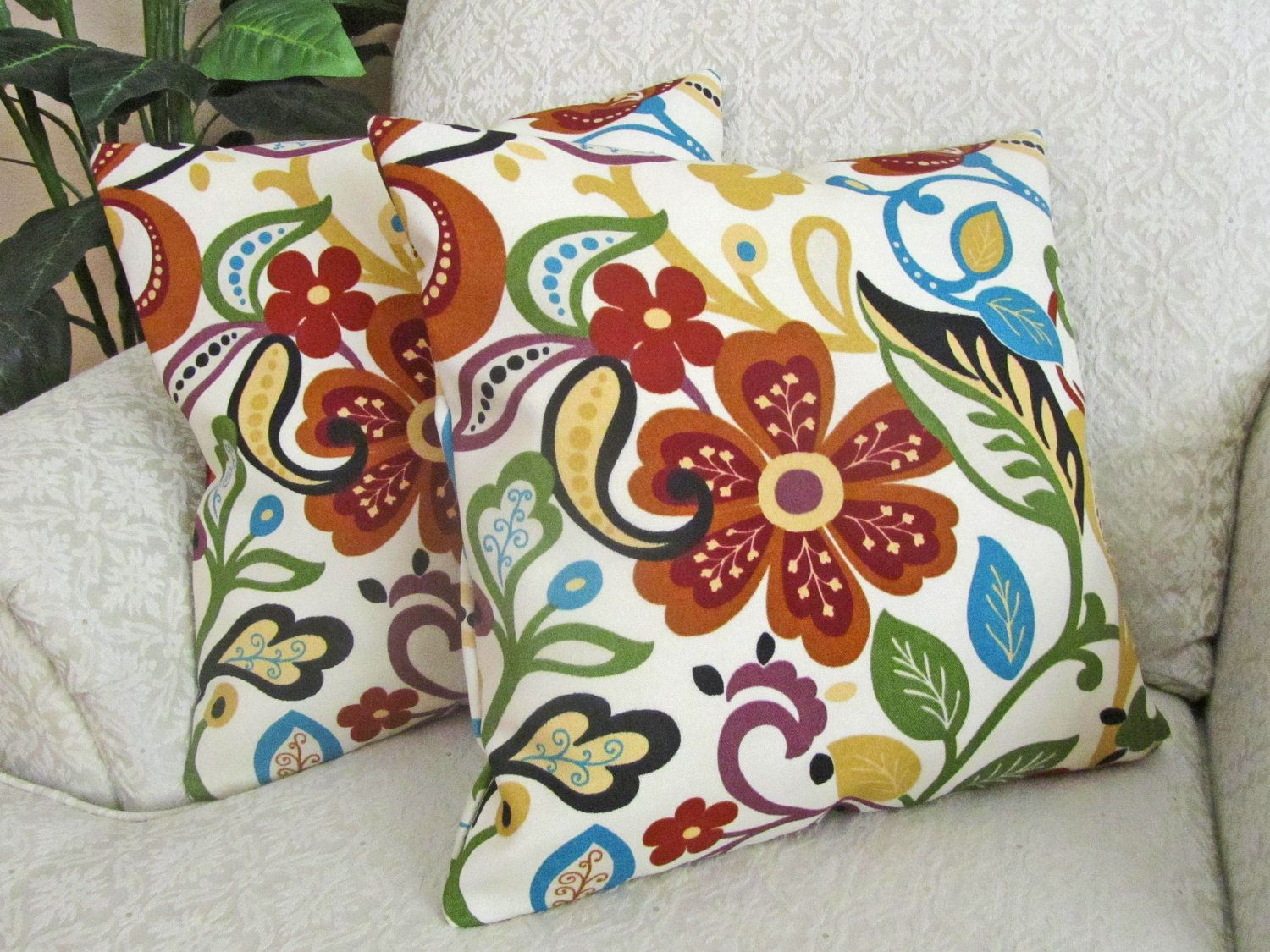 Decorative Sofa Pillows Innovation Puzzle Luxe Bed Floral Throw Pillow Cover Cushion