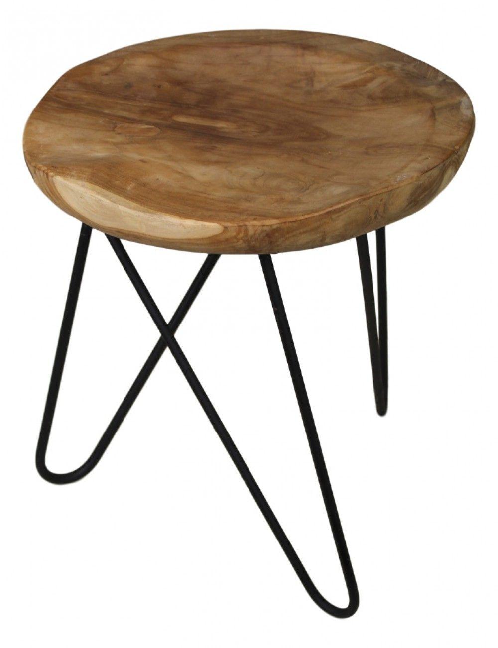 Hocker Metall Holz Holz Hocker Teak Beistelltisch Rund Holz Metall Beistelltisch Rund Holz Hocker Metall Hocker Holz