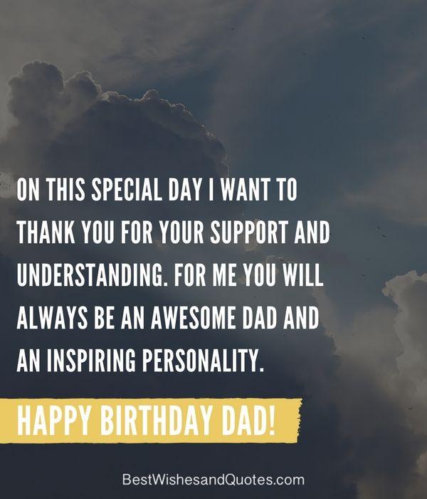Dad Birthday Quotes Happy Birthday Dad   40 Quotes to Wish Your Dad the Best Birthday  Dad Birthday Quotes