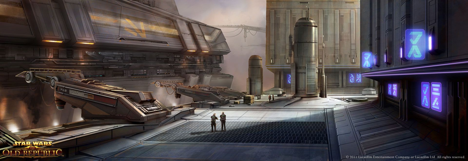 SWTOR Concept Art - Corellia | My Father's Father | The ...