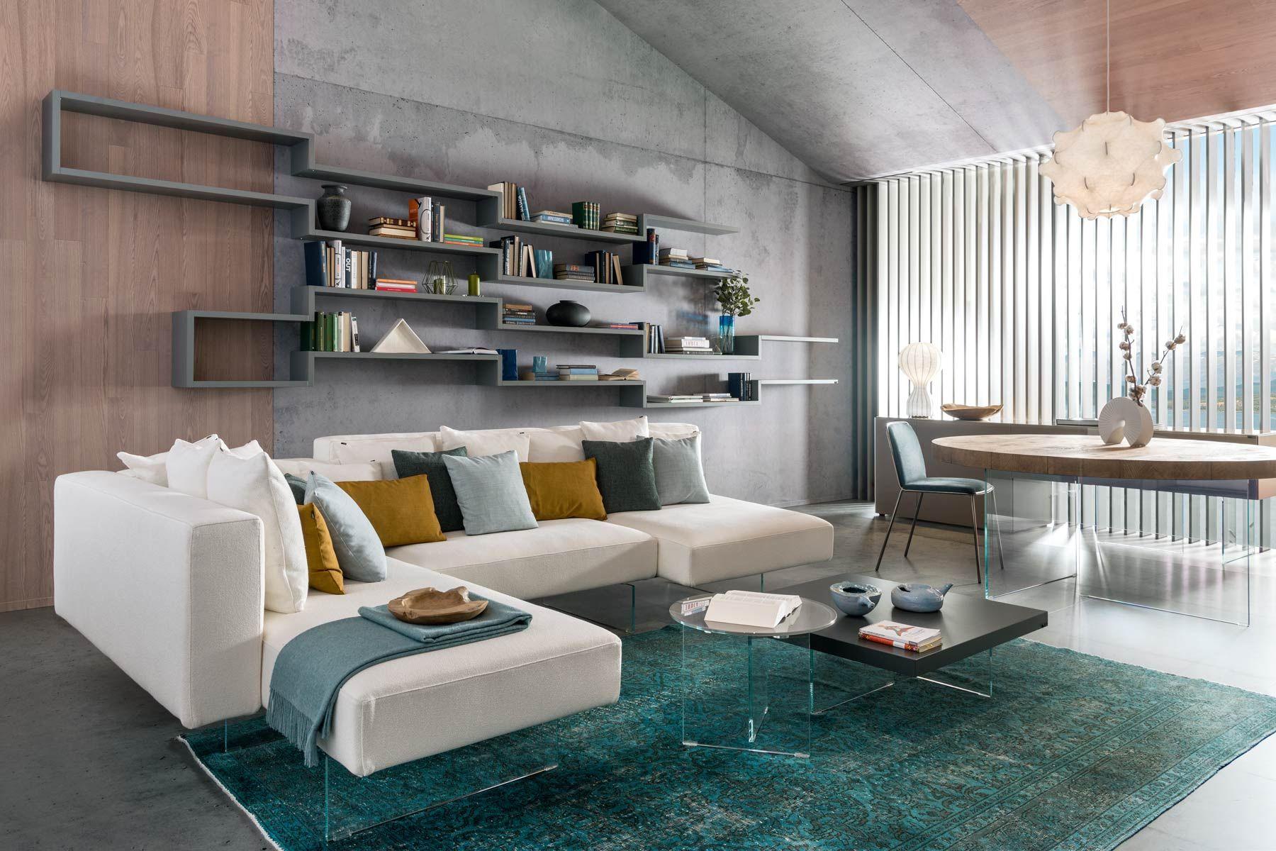 Tavolini Da Salotto Lago un tavolino sospeso ed essenziale per il soggiorno   design