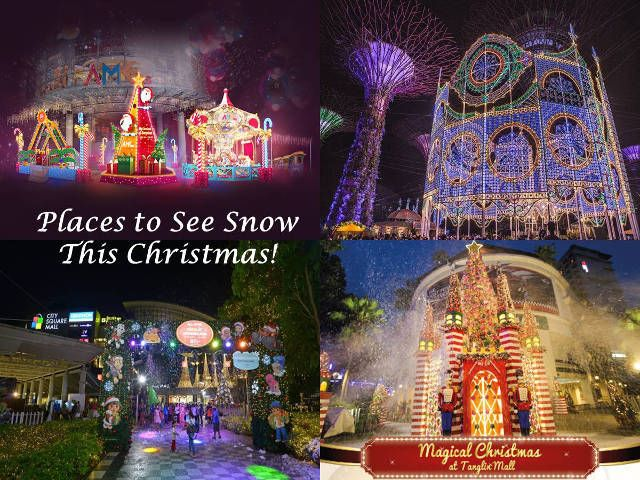 7 Places To See Snow In Singapore This Christmas 2019 Places To See Places Singapore