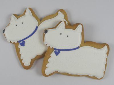 Westie Cookies Cute Idea Animal Cookies Dog Cookies Westies