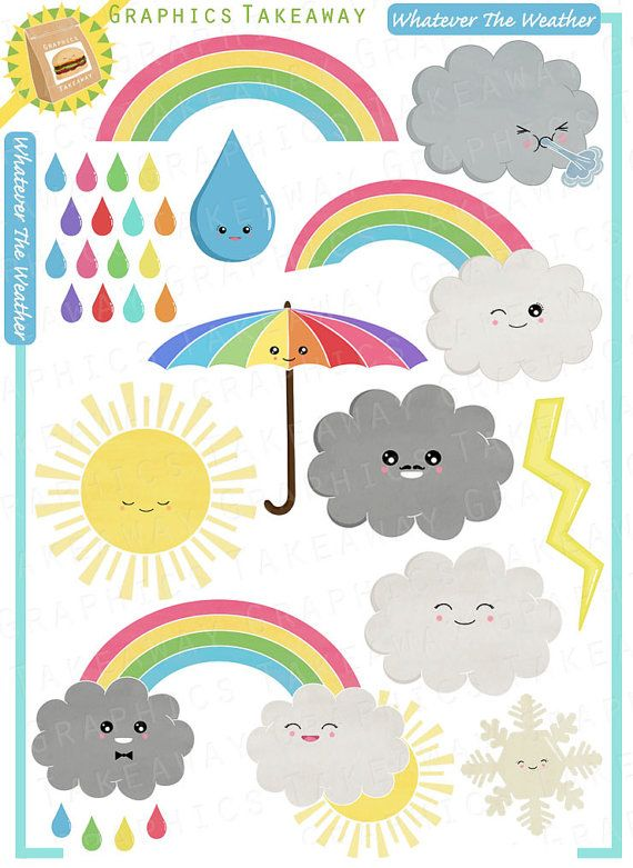 Whatever the weather clipart digital collage commercial use whatever the weather clipart digital collage commercial use license voltagebd Image collections