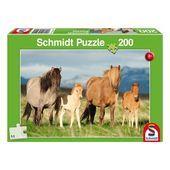 Puzzle Pferdefamilie 200 Teile Puzzle Pferdefamilie 200 Teile