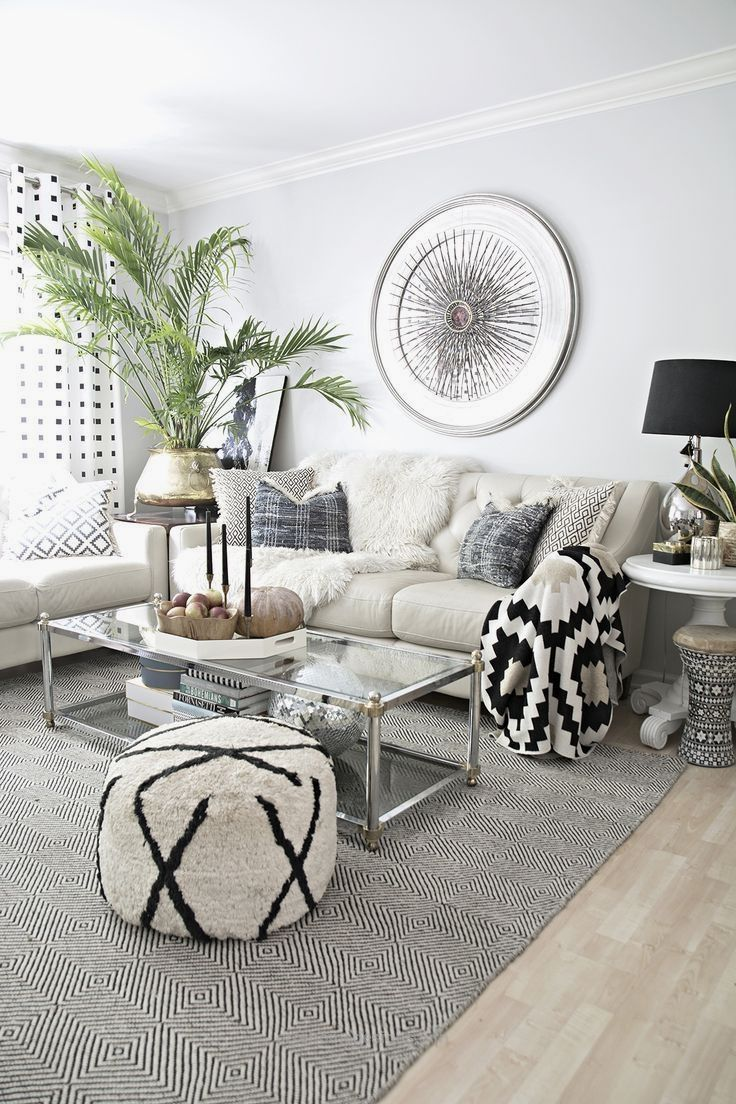 Neutrals Living Room Decor Apartment Modern Apartment Living Room Living Room Scandinavian