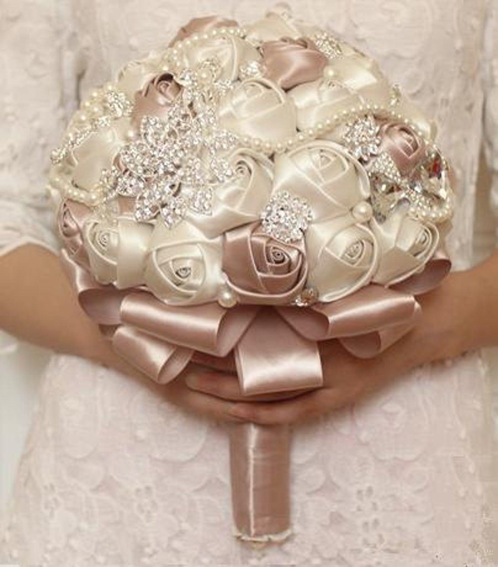 ON SALE Brooch bouquet wedding bouquet bridal bouquet