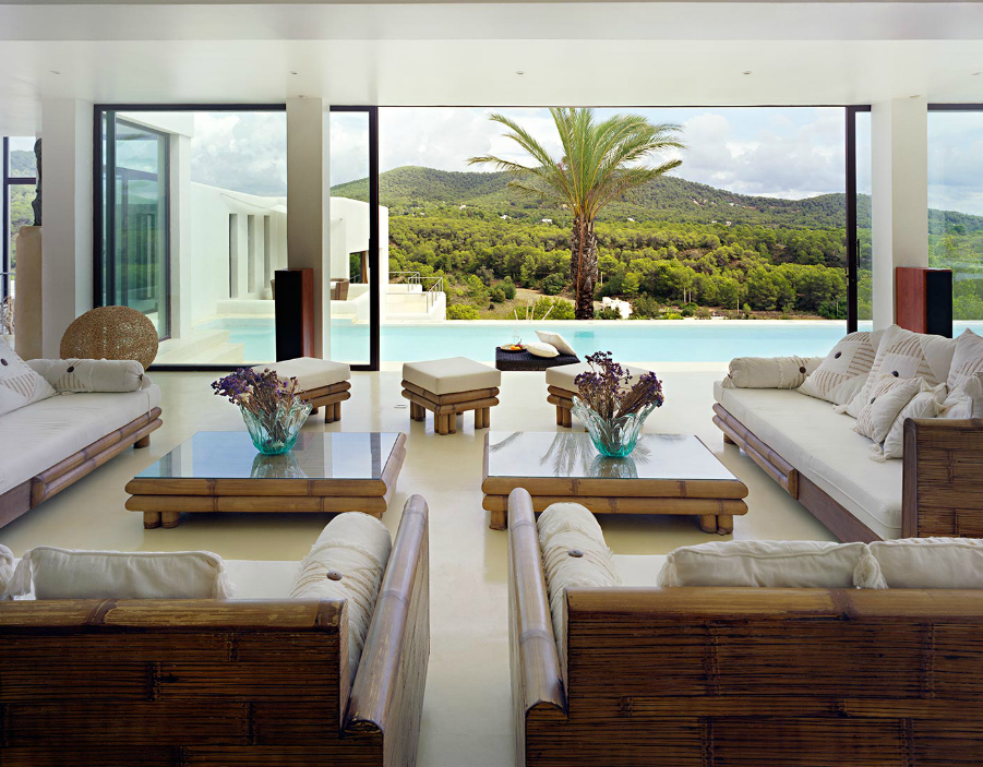Casa Jondal Was Completed In 2007 By The Ibiza Based Studio Atlant Del  Vent. This Square Foot Villa Harmoniously Combines Traditional Spanish  Architecture Amazing Design
