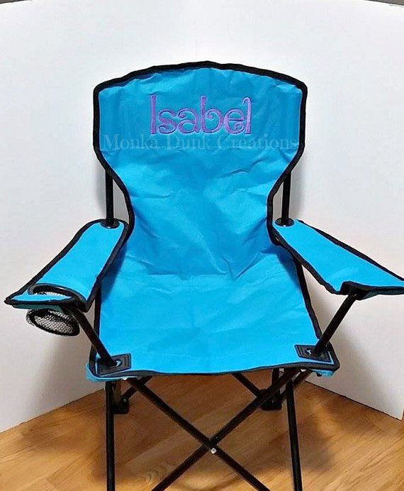 Personalized Christmas Gift Kids Monogrammed Kids Folding Chair