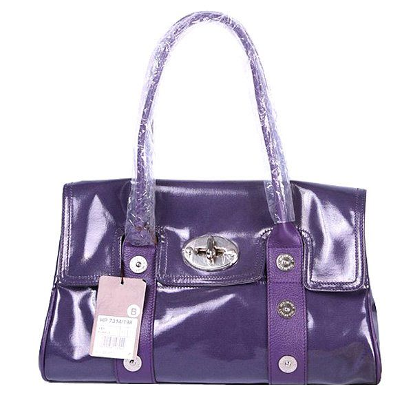 bd37d0689527 Mulberry East West Bayswater Mixed Buckle shoulder Bag Purple ...