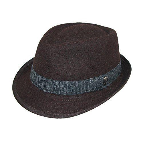 2ac9ed1c4ed7c Luxury Dorfman Pacific Menu0027s Wool Blend mens dress hats