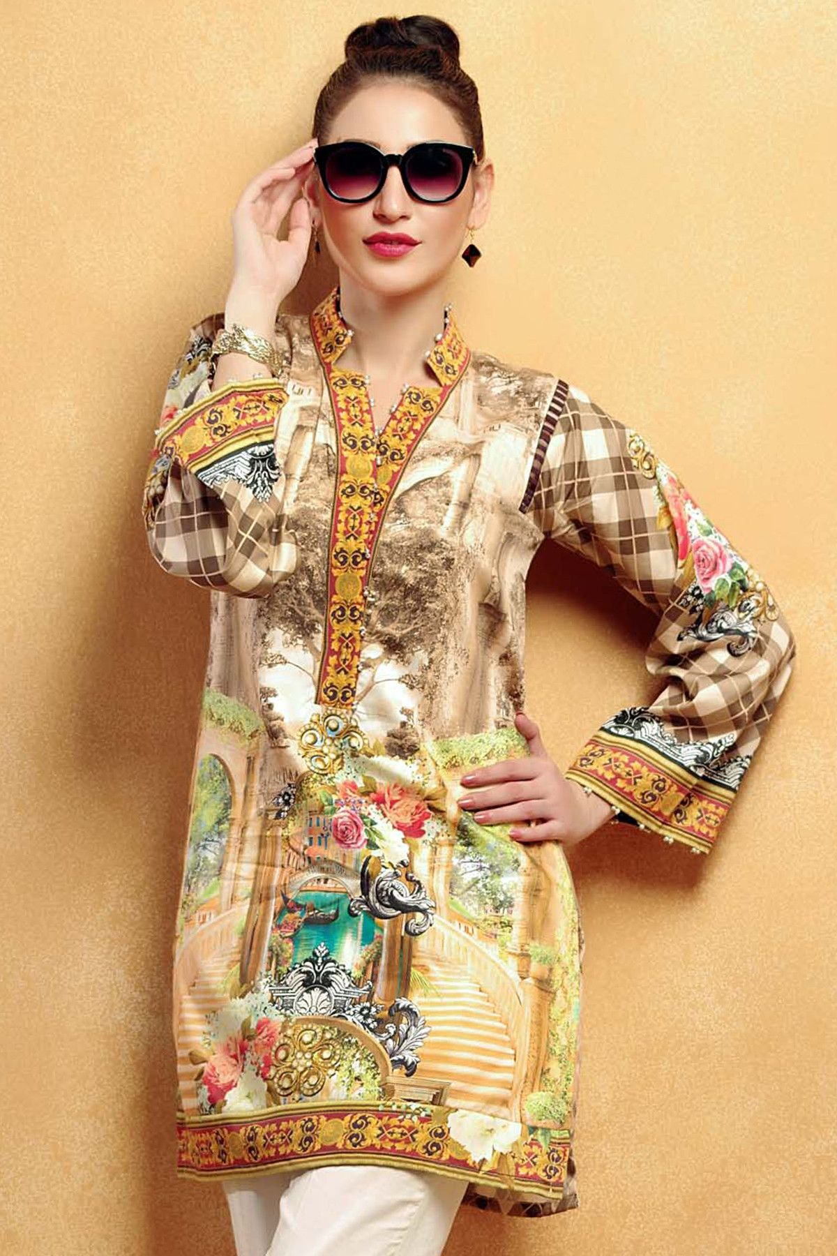 9fc00a907c Gul Ahmed Introducing Latest Winter Collection 2017 Vol-1 | Fall ...