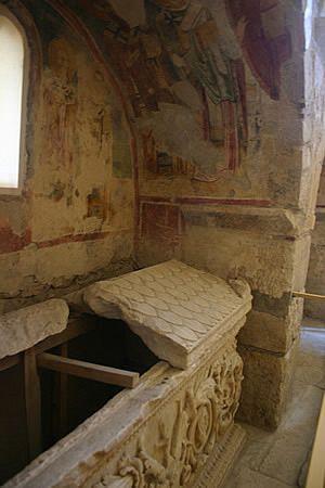 Tomb in St. Nicholas Church, Demre