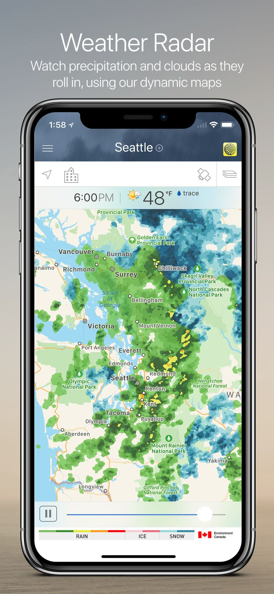 The Weather Network Ios Travel App Apps Weather Network Richmond Surrey Weather