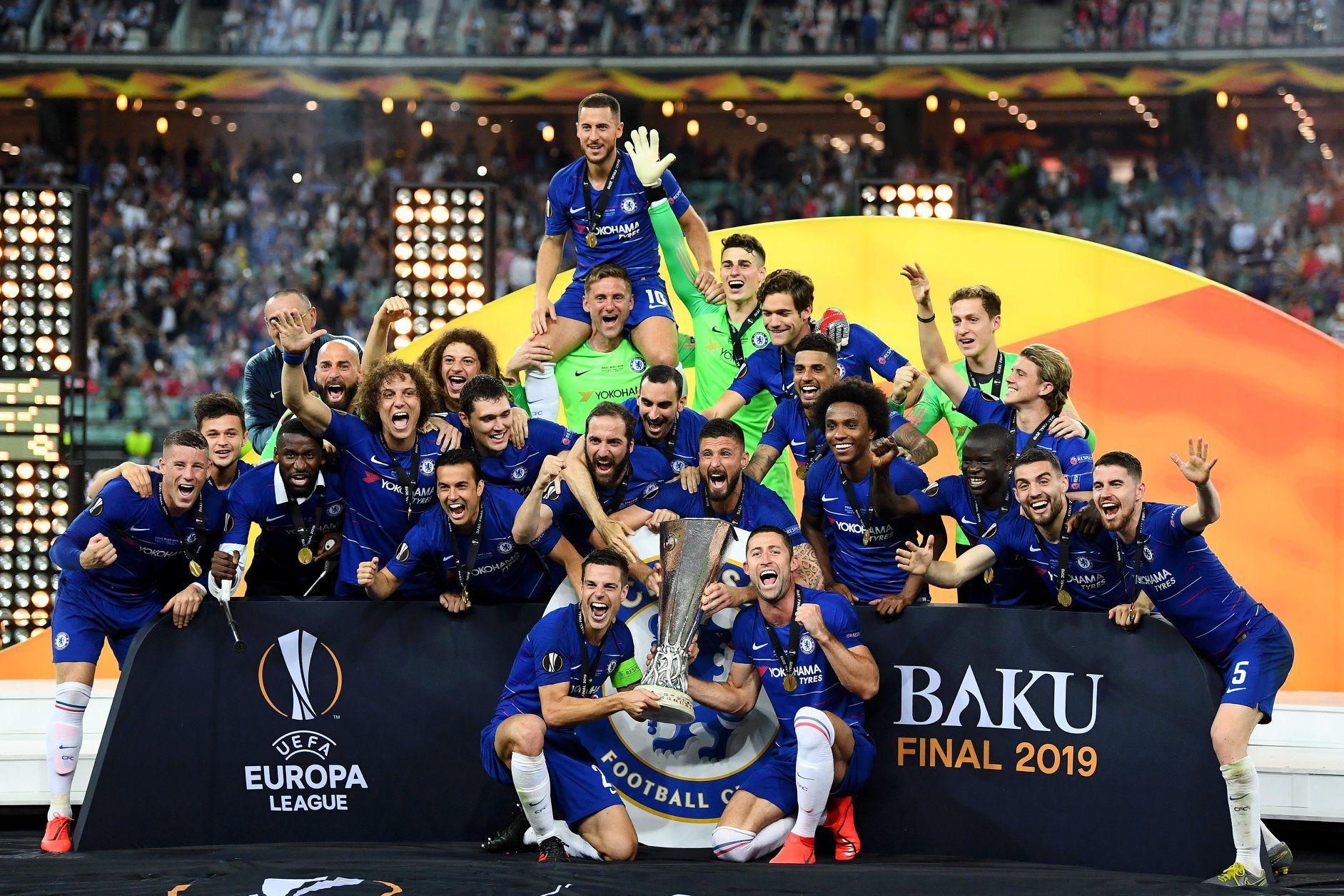 2018 19 Europa League Winners Europa League Chelsea Football Club Chelsea