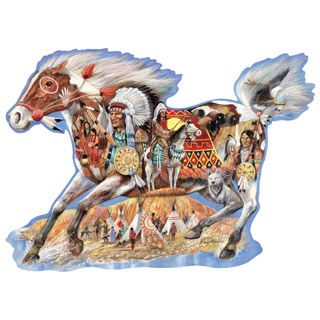 Painted Beauty 300 Large Piece Shaped Jigsaw Puzzle   Bits ...