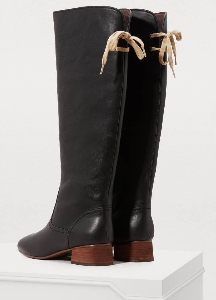 Lara boots | Boots, See by chloe, Chloe
