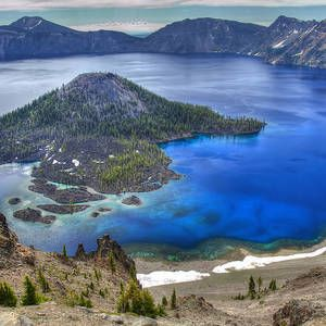 Crater Lake Oregon by Pierre Leclerc Photography