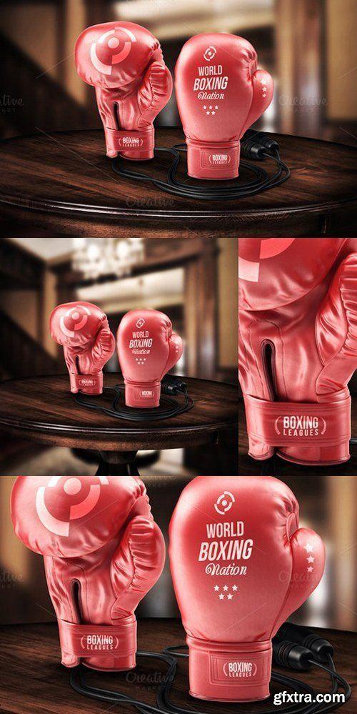 CM - Boxing Gloves - Mockup 490105