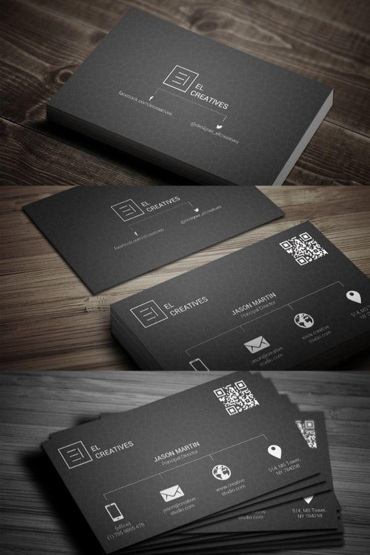Metro Dark Business Card Printable Business Cards Business Cards Creative Visiting Card Design Psd