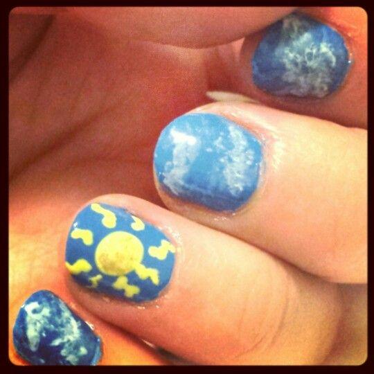 Sunshine Nailart For Spring Flatbrush Essie Opi Stuff4me