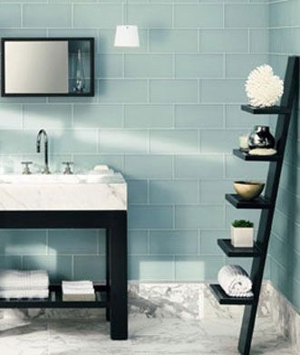 Brigid Hewes Saah Will Someday Design My Bathroom And This Be Our Inspiration Walker Zanger Roku Tile On The Walls Herringbone Marble