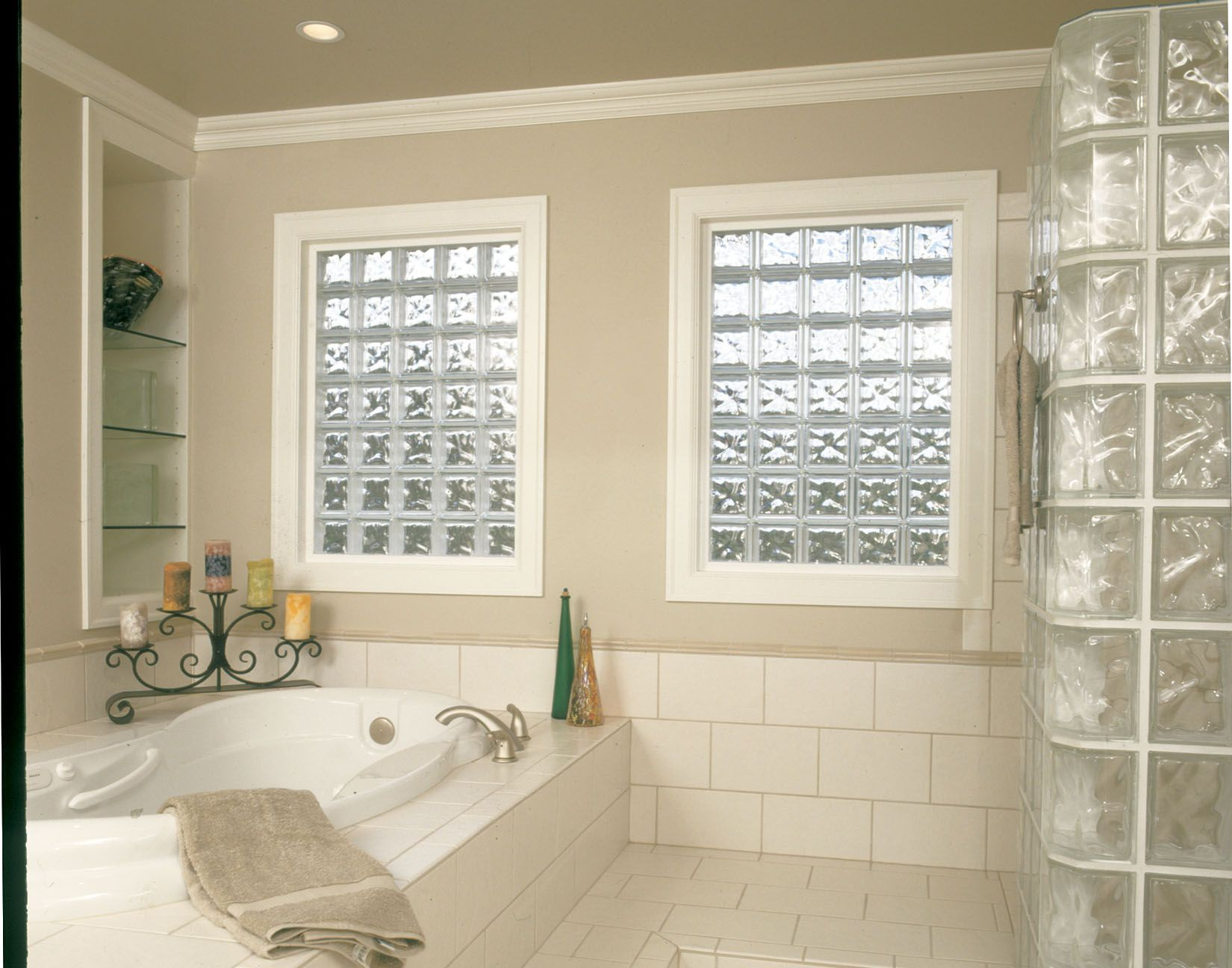 glass block bathroom windows. Bring Light To Your Bathroom Walls With Glass Block From Pittsburgh Corning. Product: Windows
