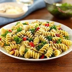 Rotini With Kale, Roasted Peppers and Pine Nuts - Allrecipes.com