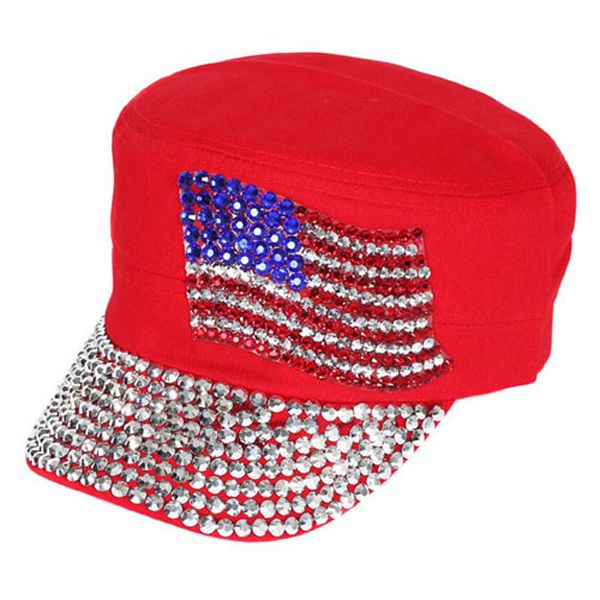 03e65e2731a2 Something Special - Jewel Cap with American Flag
