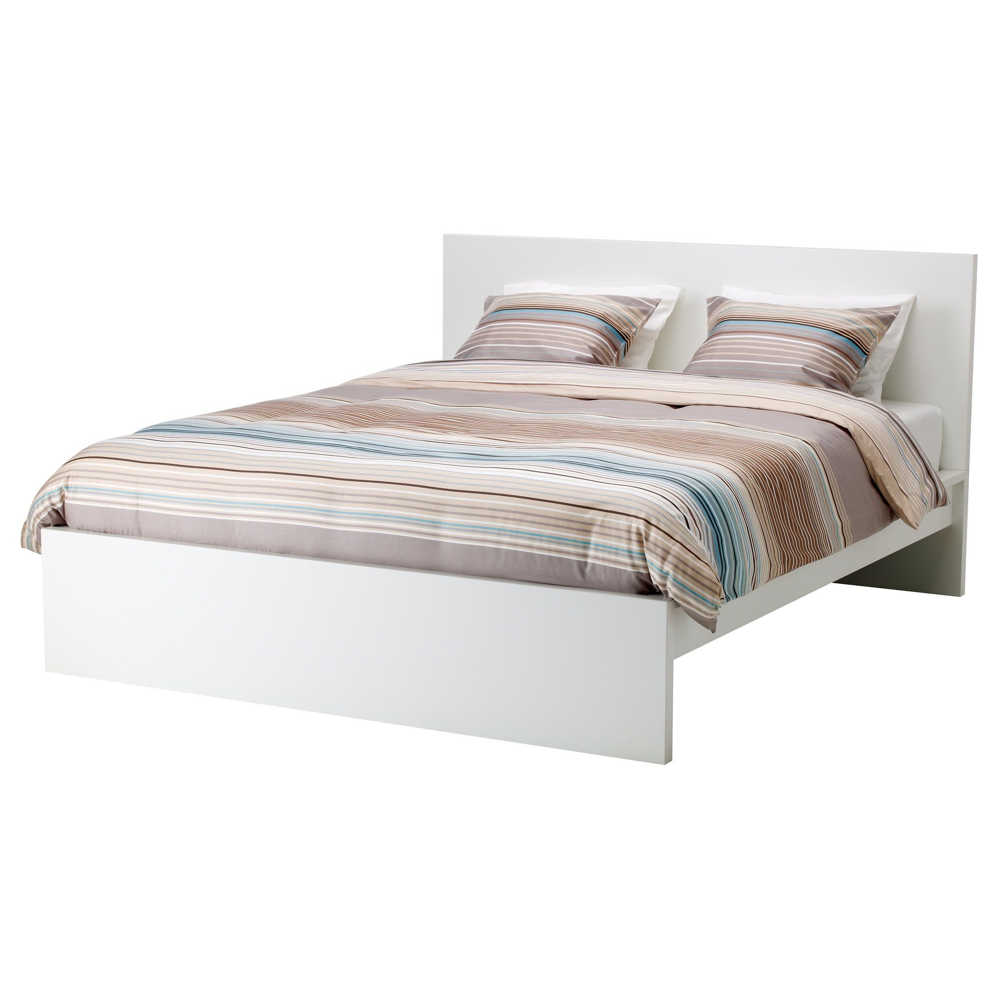 Malm Bed Frame High King White Ikea 240