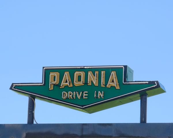 Paonia Drive In, Paonia, CO