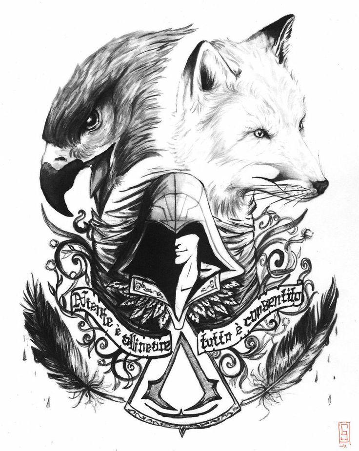 tattoo | Assassin's Creed | Assassins Creed, Assassin's ...