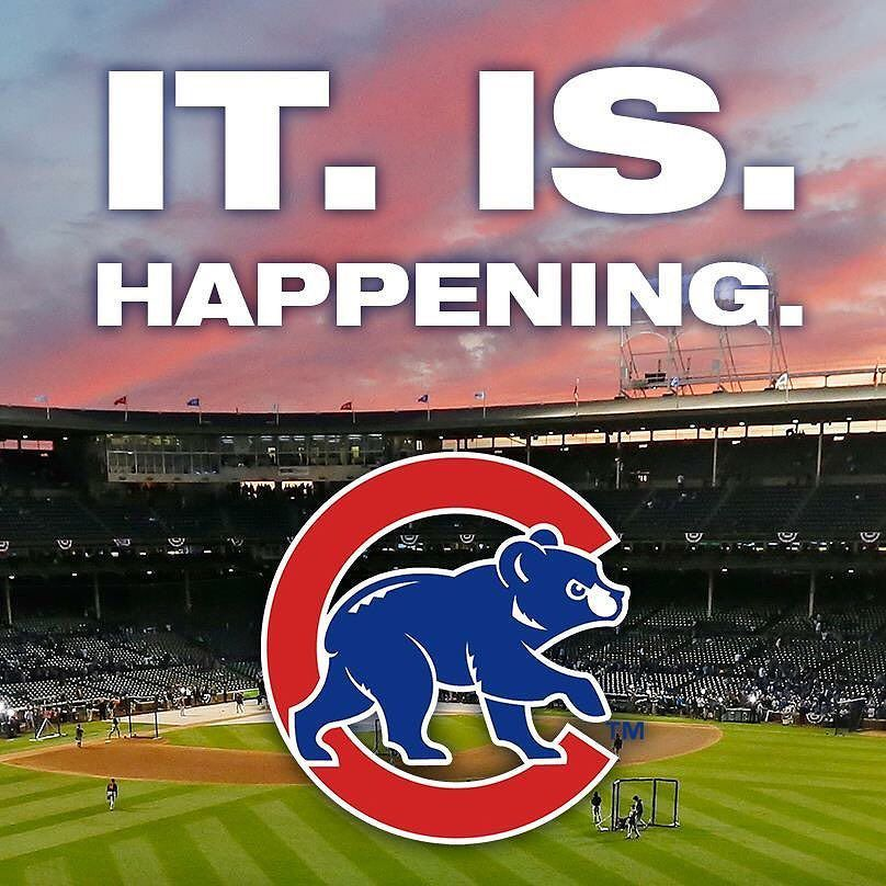 Let S Go Cubs We Are Going To The World Series Barringtonpools Chicago Cubs Chicagocubs Chicago Cubs World Series Cubs World Series Chicago Cubs Baseball