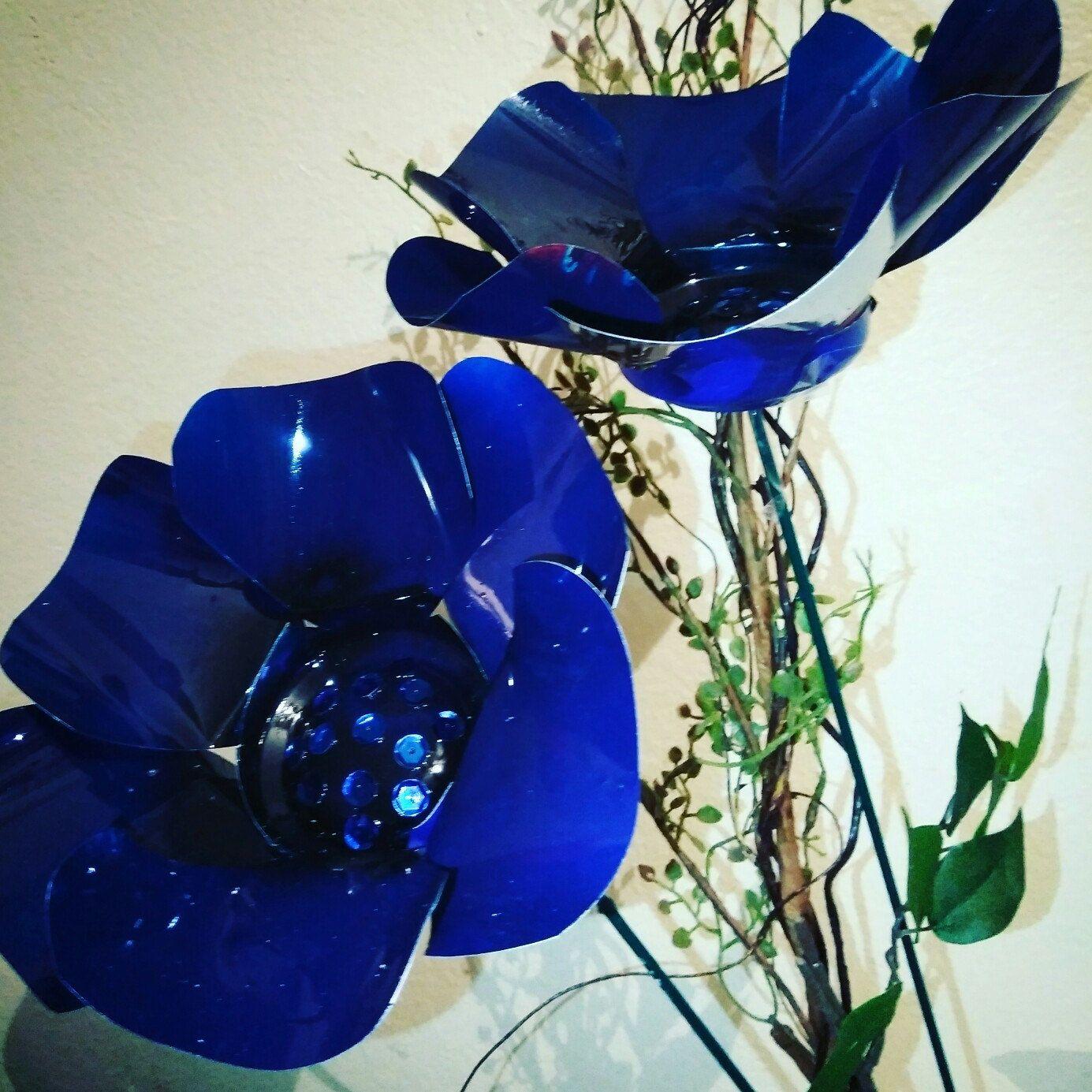 My original poppy flower design in a whole new color beautiful my original poppy flower design in a whole new color beautiful midnight blue izmirmasajfo