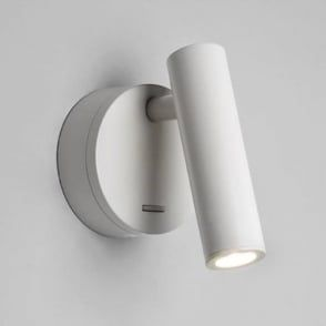 Enna Hotel Style Led Over Bed Reading Light White Surface Mounted