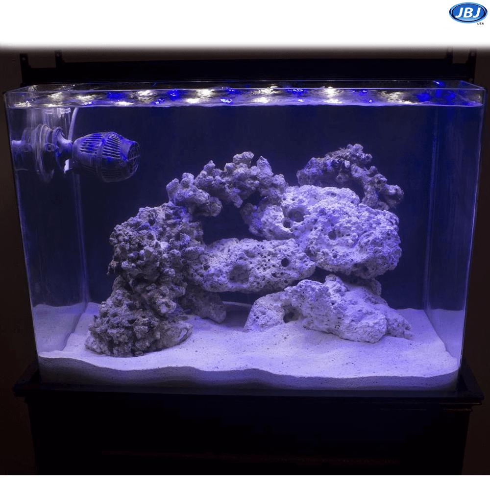 Jbj 45 Gallon Nano Cube Rimless Biotope Aquarium W Cabinet Sale 619 97 Biotope Aquarium Aquarium Nano Aquarium
