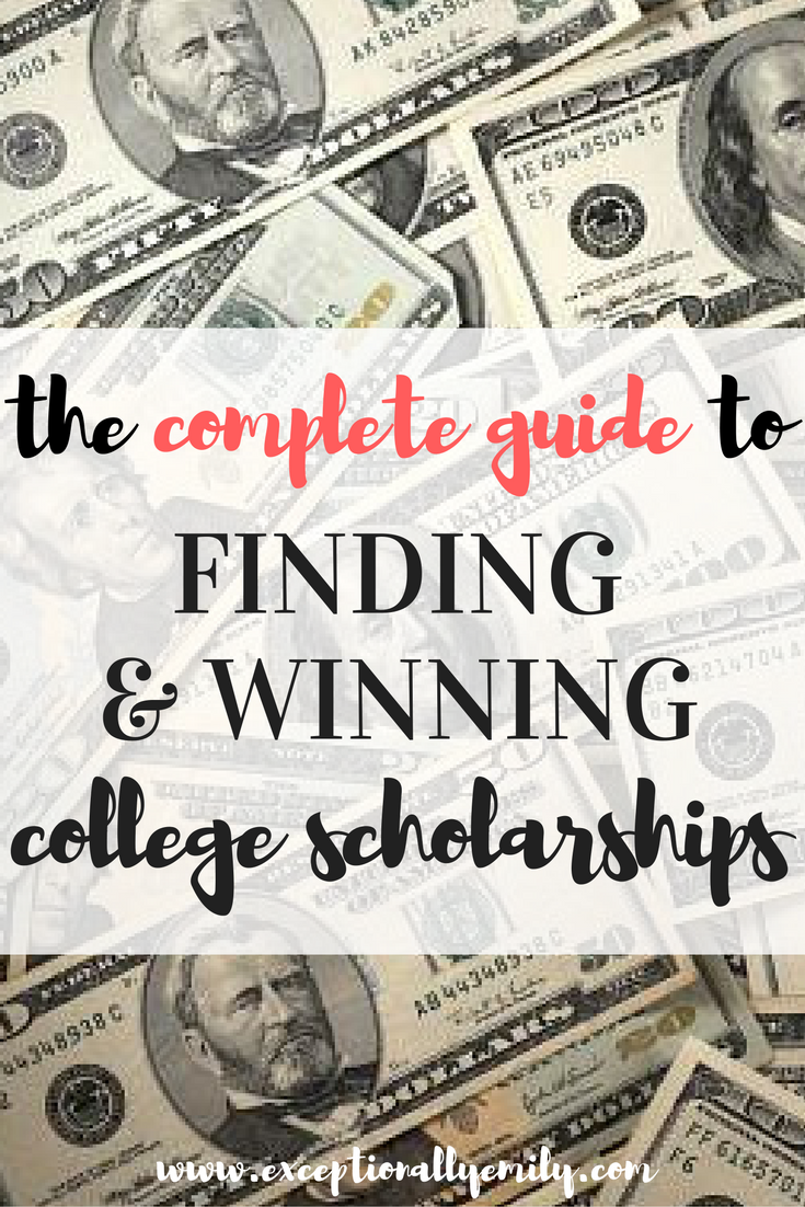 Grants For College >> College Scholarships How To Find Win Them Scholarships
