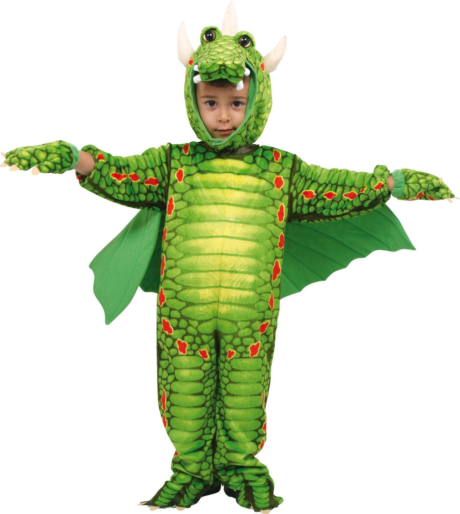 kostüm drachen faschingskostüm für kinder ab 2 jahren | 5636 / ean