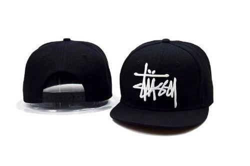 131e4b4b77b 2018 New Fashion Stussy Hip Hop Flat Snapback Hat