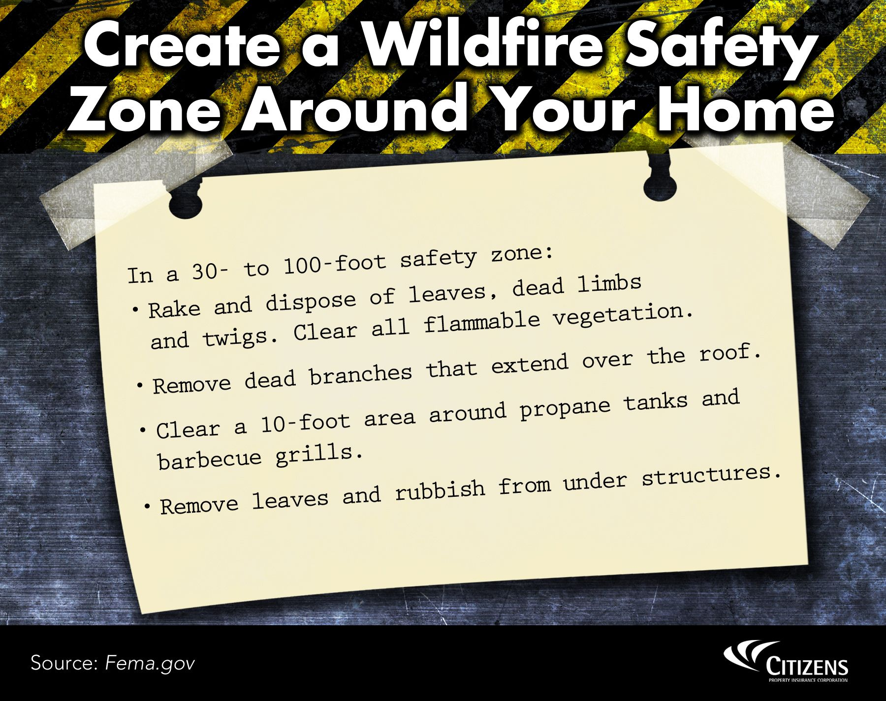 Create A Wildfire Safety Zone Around Your Home Barbecue Grill