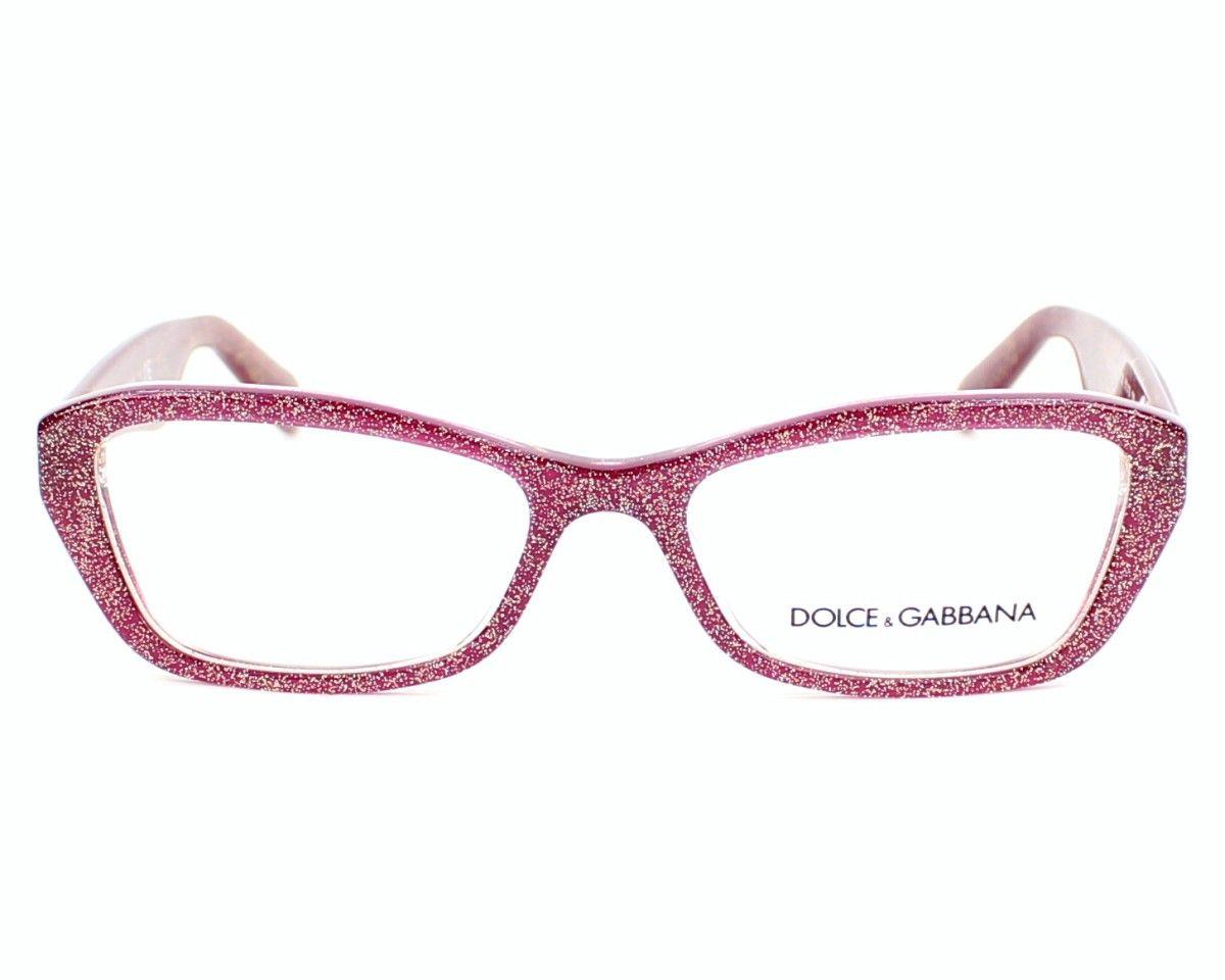 849821b155d0 Dolce   Gabbana eyeglasses DG3168 br   Acetate Glitter Pink