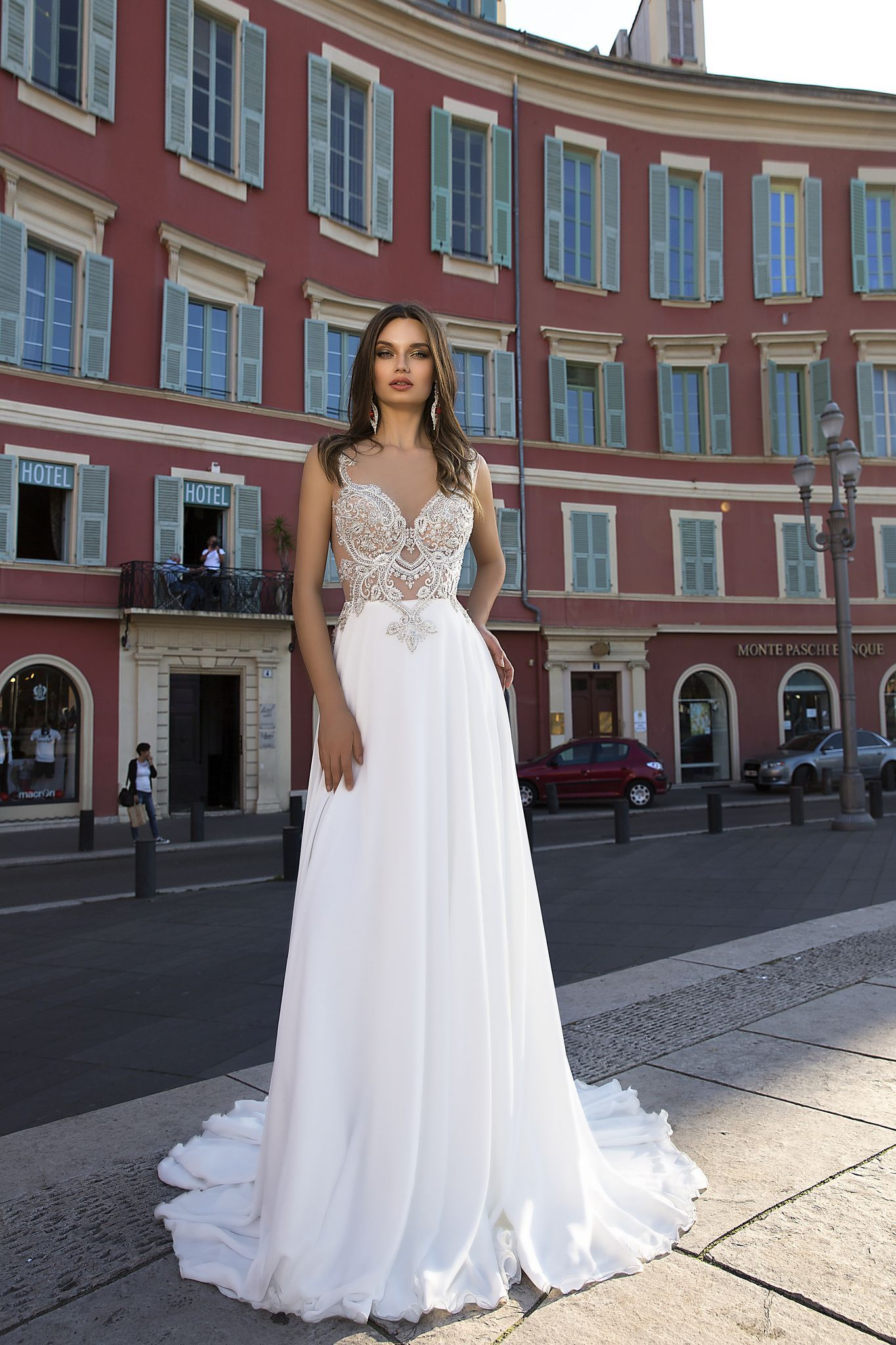 Lace wedding dress for short person january 2019 wedding dress Jacqueline Каталог страница товара u Tina Valerdi
