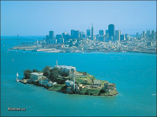 Alcatraz Island Is Located In The San Francisco Bay 1 5 Miles