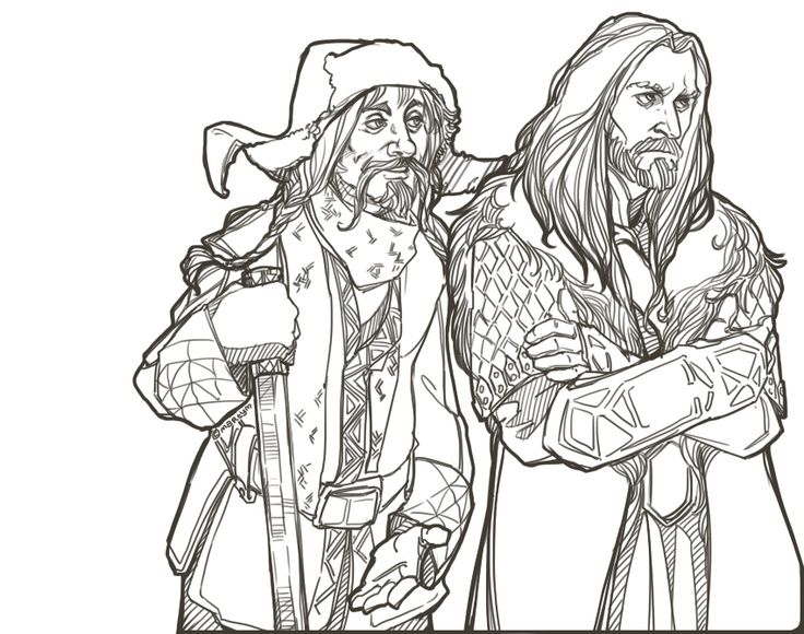 hobbit coloring pages bing images