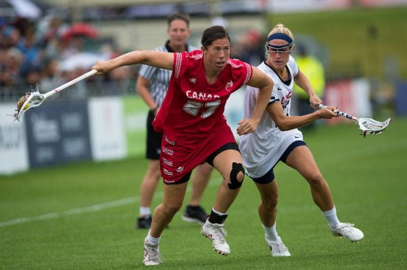 Canada Wins Silver Medal at Women's Lacrosse World Cup