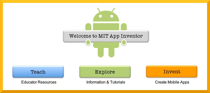 MIT App Inventor TAAC Apps en Educación Android